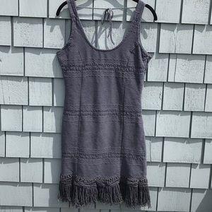 Billabong Blue Fringe Dress